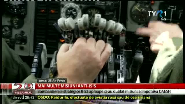 Bombardiere strategice B 52 contra ISIS