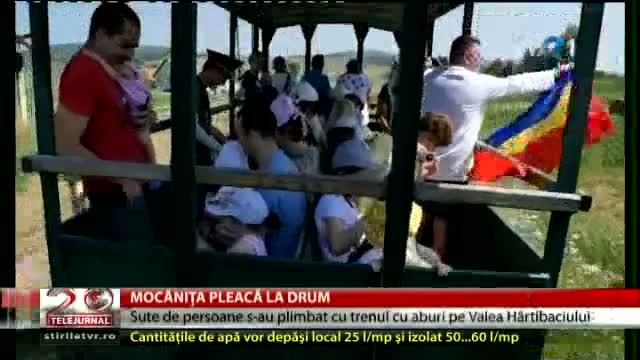 Mocănița pleacă la drum