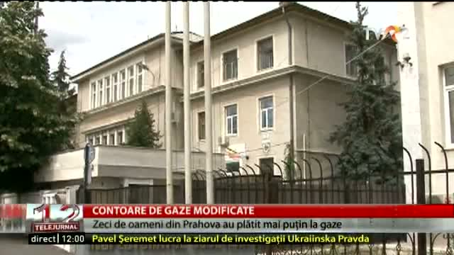 Contoare de gaze modificate
