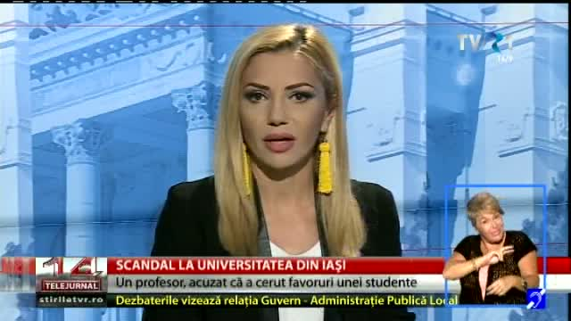 Scandal la Universitatea din Iași