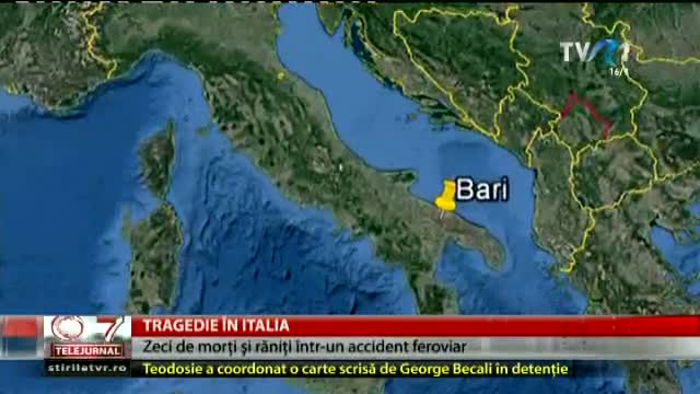 Accident feroviar în Italia
