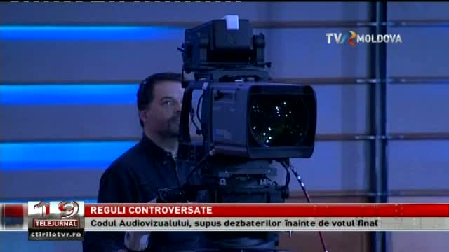 Telejurnal Moldova / Reguli controversate