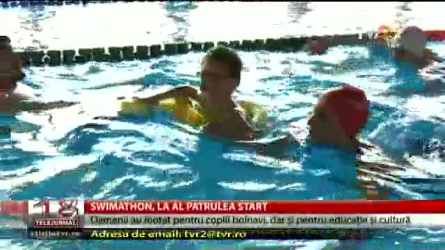 Swimathon, la al partulea start