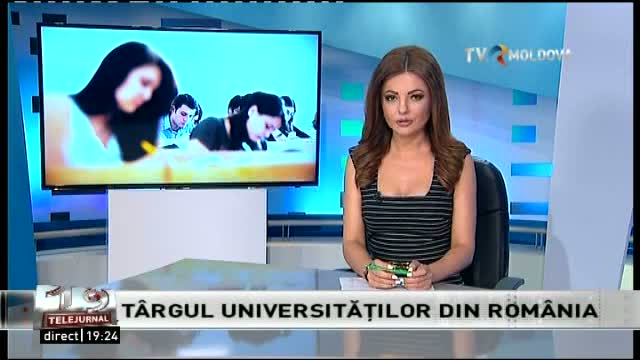 Telejurnal Moldova / Târgul universităților