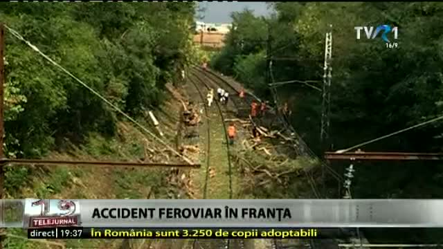 Accident feroviar în Franța