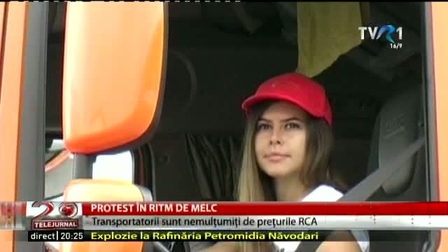 Protest al transportatorilor
