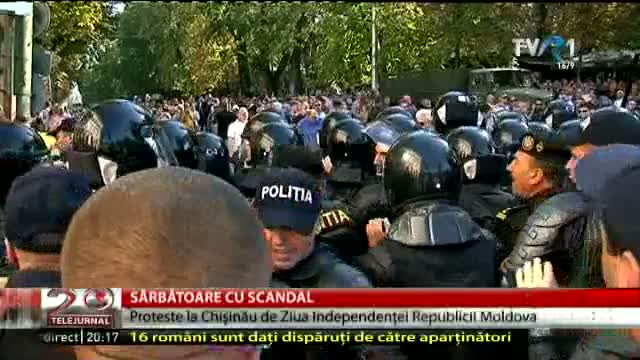 Scandal de Ziua Independenței Republicii Moldova