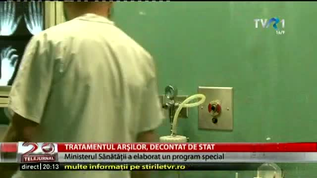 Tratamentul arșilor, decontat de stat