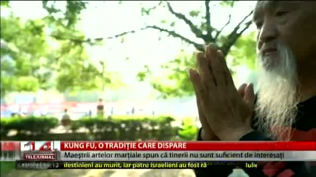 Kung Fu, o tradiție care dispare