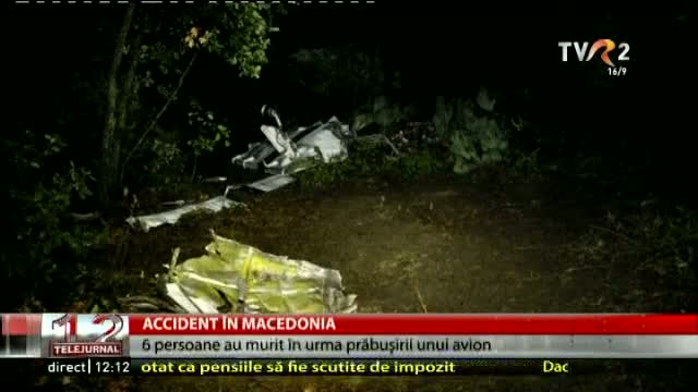 Accident în Macedonia