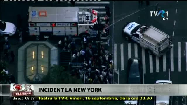 Incident la New York