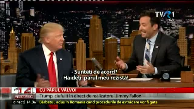 Trump, ciufulit în direct la TV