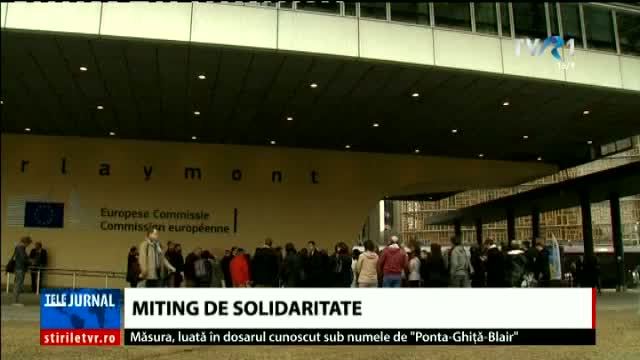 Miting de solidaritate