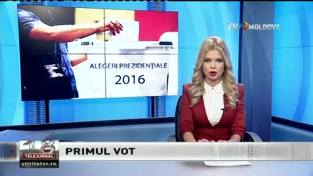 Telejurnal Moldova - Primul vot