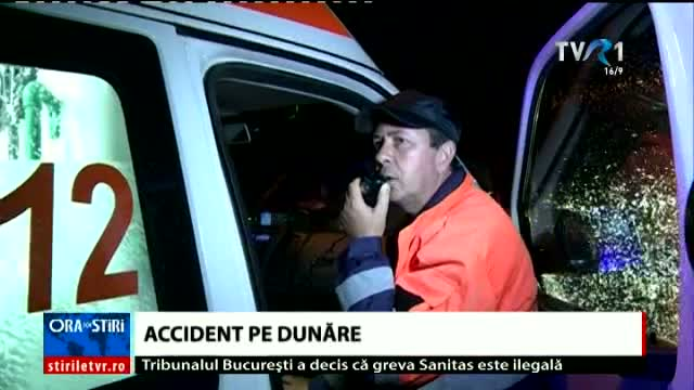 Accident pe Dunăre
