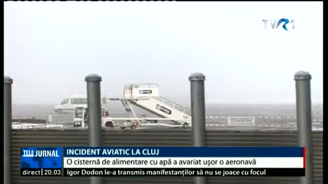 Incident aviatic la Cluj