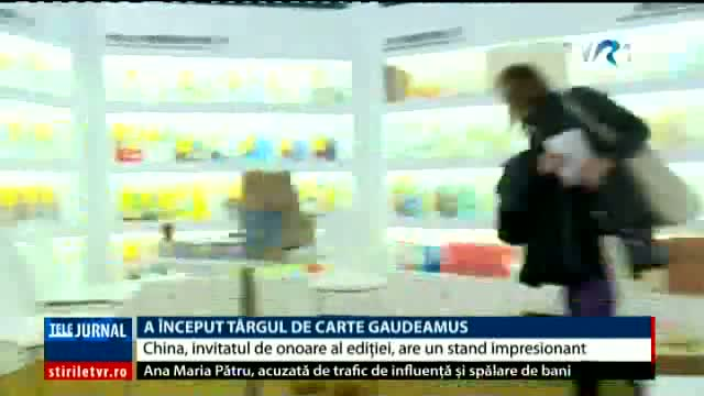 China, invitată de onoare la Gaudeamus
