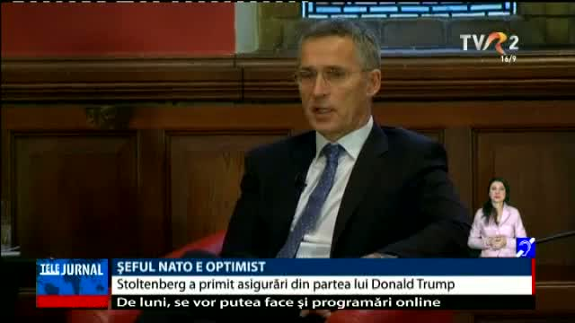 Șeful NATO e optimist