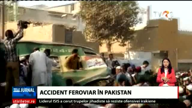 Accident feroviar în Pakistan