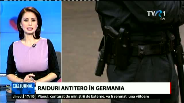 Raiduri antitero în Germania