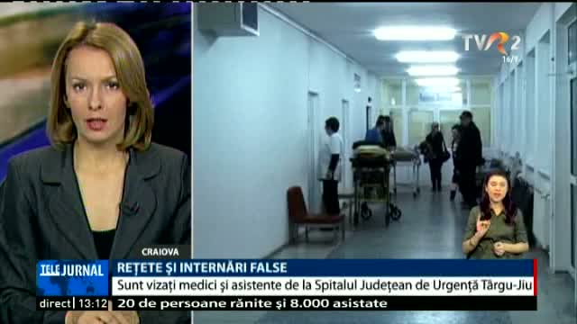 Rețete și internări false