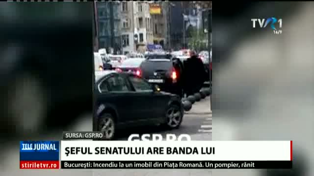 Șeful Senatului are banda lui