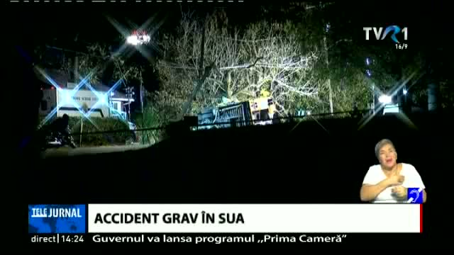 Accident grav in SUA