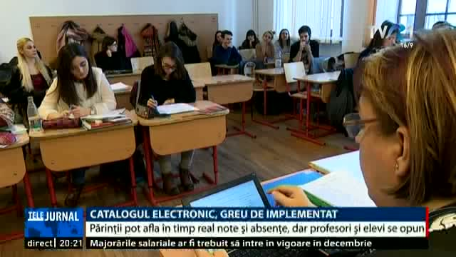Catalogul electronic, greu de implementat
