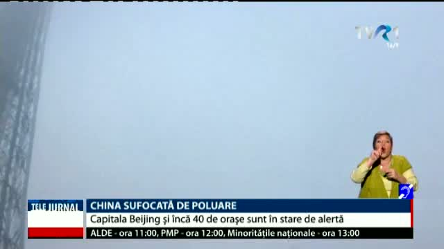 China, sufocată de poluare