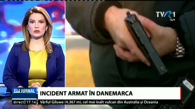 Incident armat în Danemarca