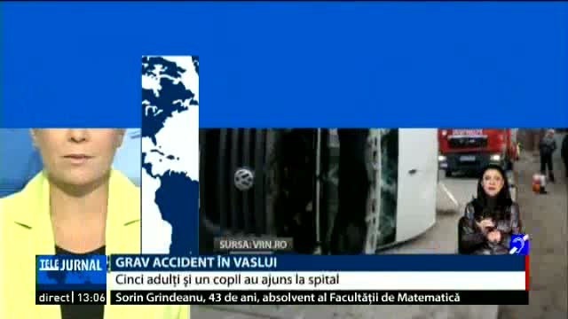 Grav accident in Vaslui