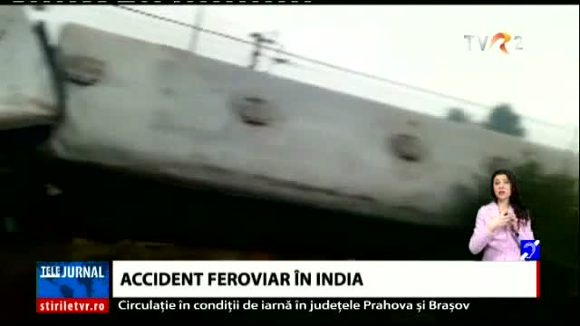 Accident feroviar în India