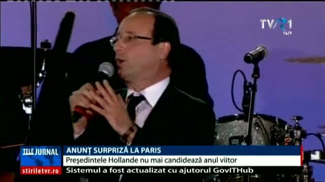 Anunț surpriză la Paris