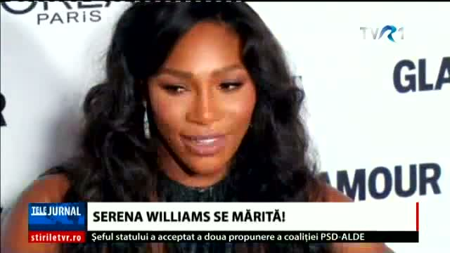 Serena Williams se mărită