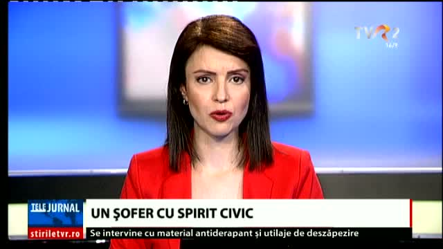 Un șofer cu spirit civic