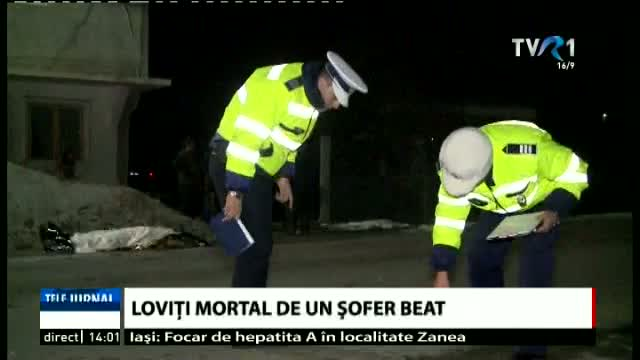 Accidentați mortal de un șofer băut