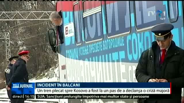 Incident în Balcani