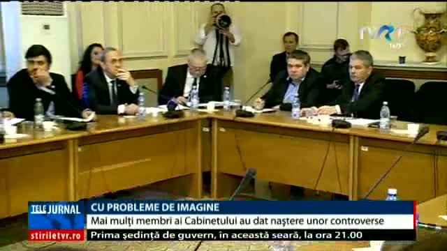 Miniștri cu probleme de imagine