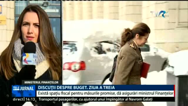 Reporterul Laura Fronoiu, Telejurnal 14.00