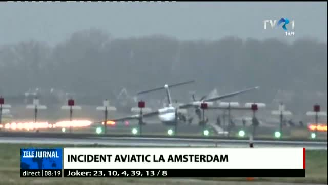 Incident aviatic la Amsterdam