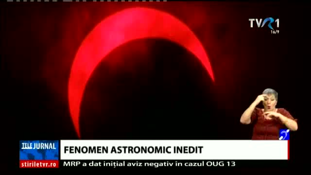Fenomen astronomic inedit