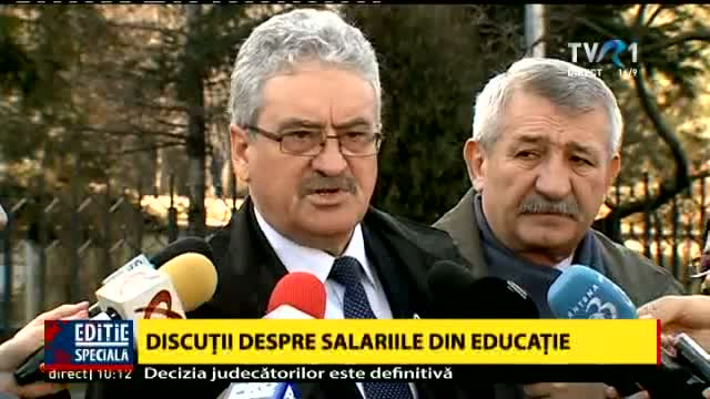 Sindicatele din Educație, la Guvern