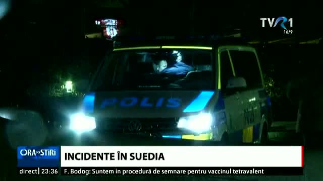 Incidente în Suedia