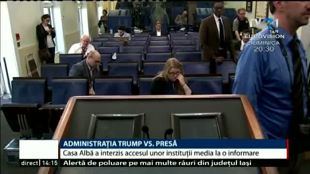 Trump vs presă