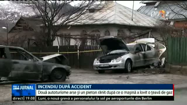 Accident spectaculos