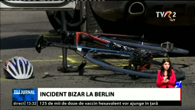 Incident bizar la Berlin