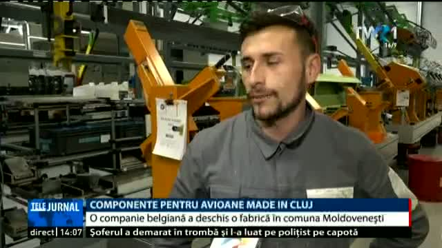 Componente de avioane made in Cluj