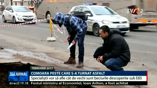 Comoara peste care s-a turnat asfalt
