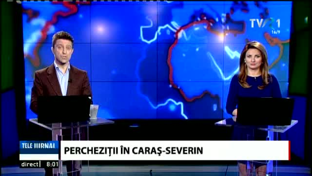 Percheziții la Caraș-Severin