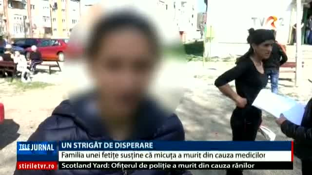Un strigăt de disperare